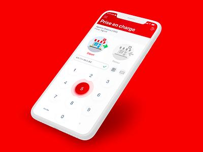 Loxam // Prise en charge paris freelance iphone mobile ios ux app interface ui seempl studio
