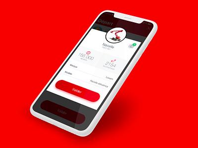 Loxam // Popin paris freelance iphone mobile ios ux app interface ui seempl studio