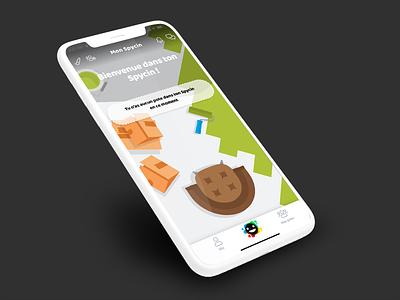 Spycin // Mon Spycin paris freelance iphone mobile ux ios app ui interface seempl studio