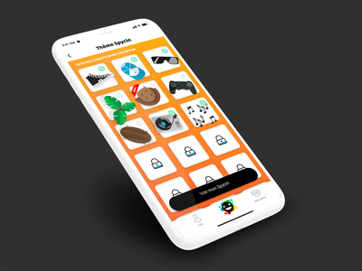 Spycin // Thème paris freelance iphone mobile ux ios app interface ui seempl studio