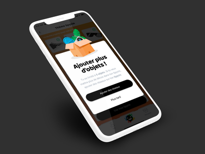 Spycin // popin paris freelance iphone mobile ux ios app interface ui seempl studio