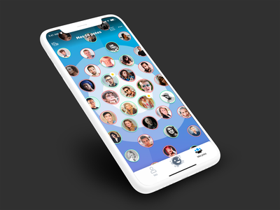 Spycin // Amis paris freelance iphone mobile ux ios app interface ui seempl studio