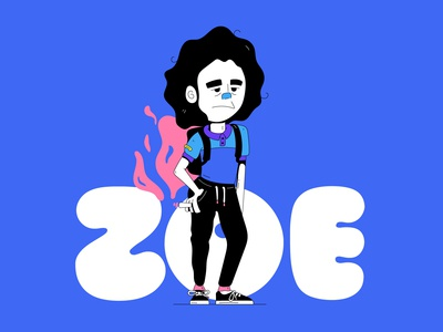 Zoe Personaje 2D