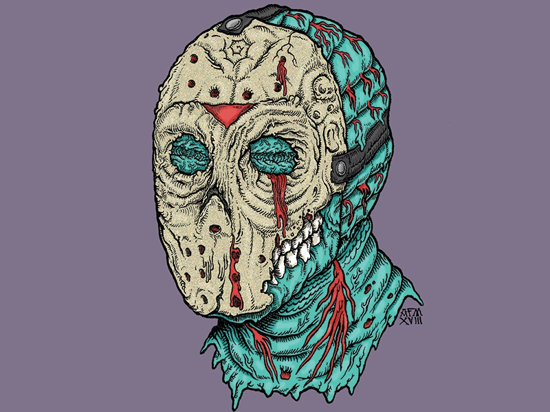 Stab... You're it zombie american horror friday the 13th jason voorhees jason