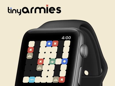 Tiny Armies! brothers flint tiny armies watchos ios game apple watch