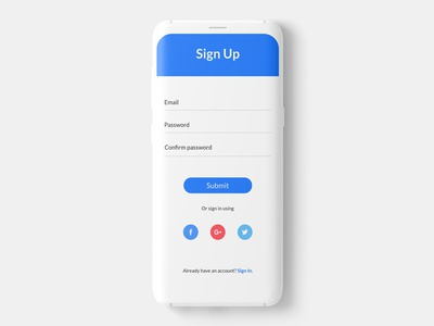 Sign up signup mobileappdesign visualdesign interactiondesign ux ui