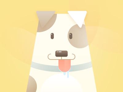 My dog 小白