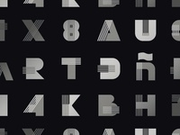 Alectro Typeface