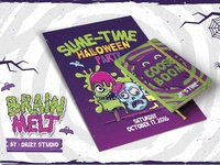 Halloween Poster & Book