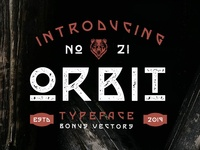 Orbit Typeface
