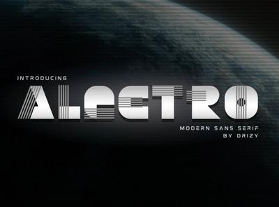1Alectro Modern Typeface