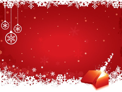 red christmas background by hakan ertan dribbble - Red Christmas Background