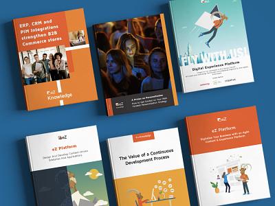 eBook & Brochure Covers product idea icon book art illustration design cover design book cover
