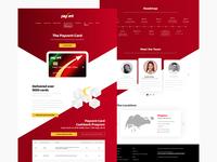 Wallet App - Webdesign Revamp