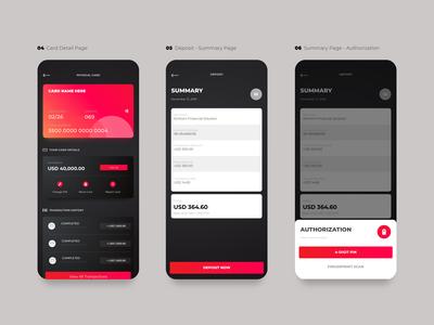 Crypto Wallet UI - Random Pages