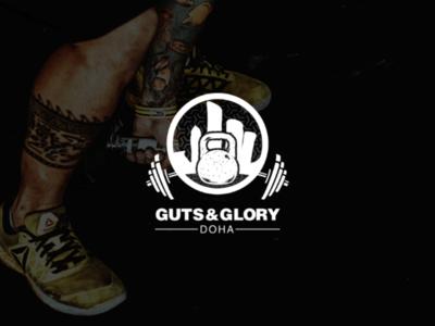 Guts n Glory Logo design