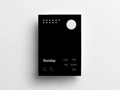 7/7 One Week in Type typography type swiss design clean minimal helvetica poster daily layout