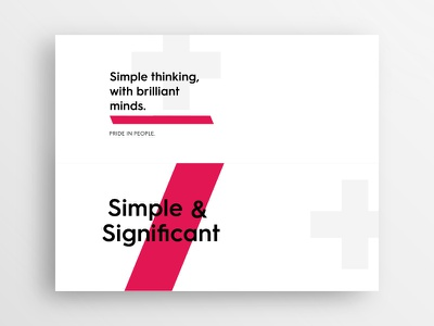 Type Exploration Cards - AAC typography white minimalism minimal identity branding brand design clean type