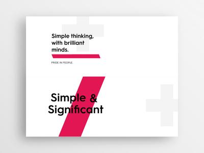Type Exploration Cards - AAC typography white minimalism minimal identity branding brand design clean type