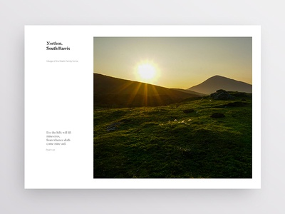 Layout Exploration photography travel print typography white simple minimal brand design clean