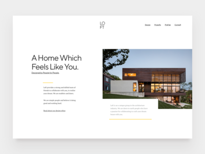 Loft - Home page