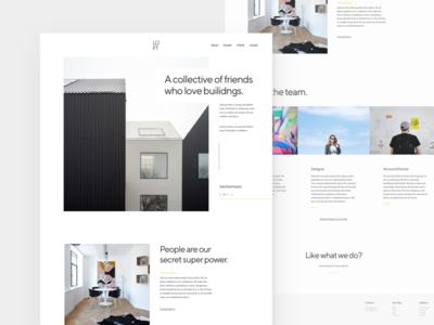 Loft - About Page