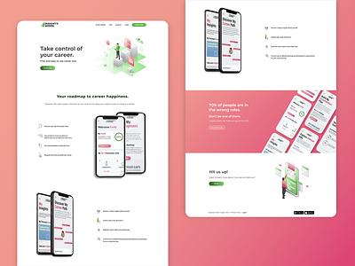 InsightsWork Inner pages simple modern minimal web app vector branding ui ux design