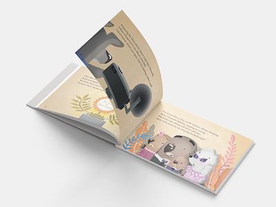Illustrations for children's book adobe illustrator photoshop art book art book vector illustration modern creative design