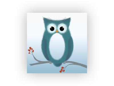 O for Owl owl o design photoshop illustrator 36daysoftype06 36days-o 36daysoftype 36days-adobe
