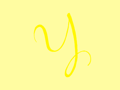 Y for Yellow 36 days of type photoshop 36daysoftype06 36daysoftype design