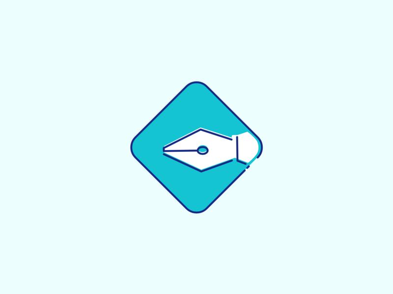 Ico Docufirm icon iconapp branding illustrator logo design