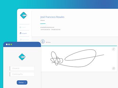 Docufirmas vector logo app xd adobe xd design