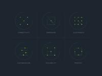 Sensor icons