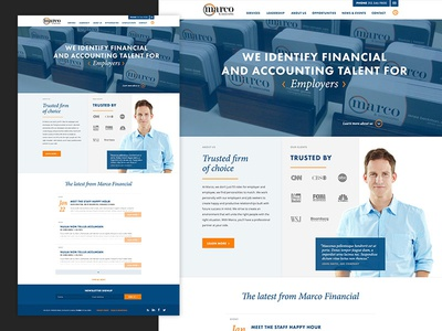 Marco Financial Homepage