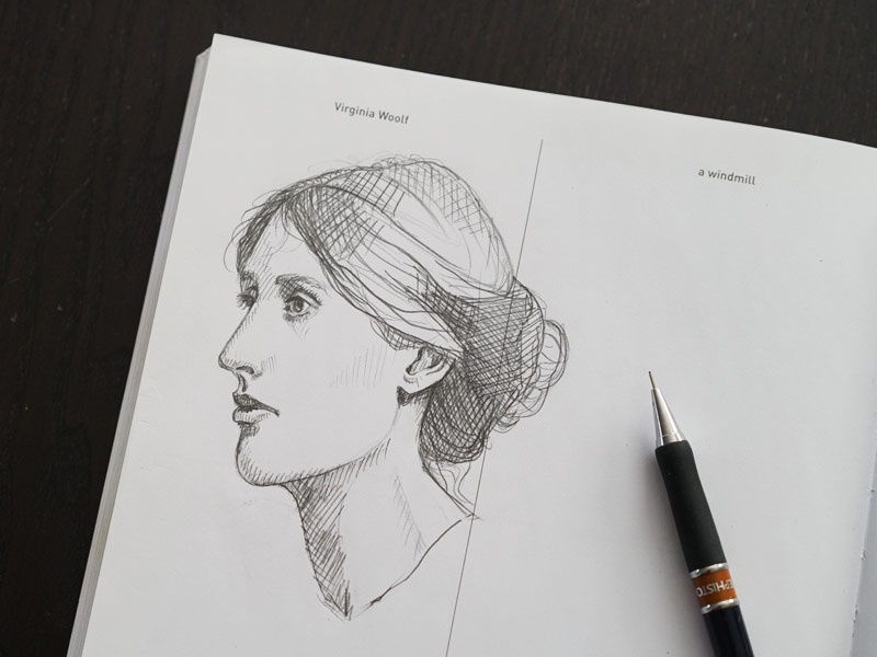 642 Things to Draw - Virginia Woolf by SueJanna on Dribbble