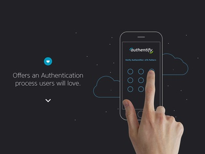 Authentify - Product Page Animation