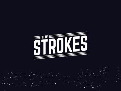 The Strokes rockband rock redesign fanart bandlogo logo strokes thestrokes