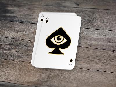 Eye of Spades black sinister illuminati cult spades of ace eye card cards playing