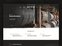 WIP homepage for Rent-a-Barrel