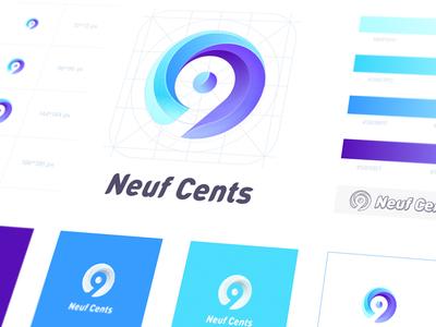 Logo for <Neuf Cents>