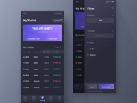 Virtual Currency App - Trading Wallet