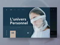 L'univers personnel — Le voile blanc