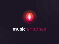 Logodesign Music Entrance
