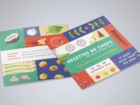 """Recipe Book - """"Recettes de Chefs"""""""