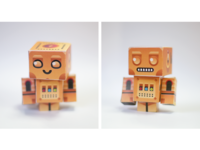 Odschool Papertoy Robots