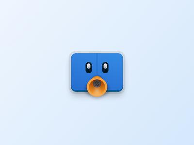 Tweetbot ui iphone twitter tweetbot ux icon home screen design app icons app figma