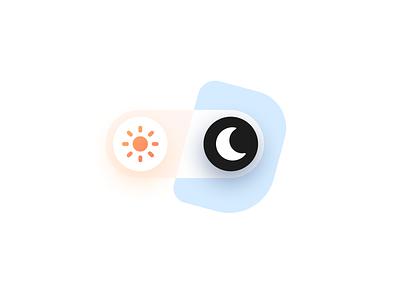 Light / Dark Mode Switch switch button toggle ui ux switch light mode dark mode figma