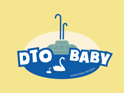 Downtown Orlando Baby Onesie Design