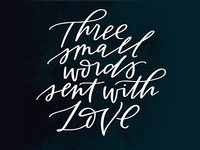 Three Small Words