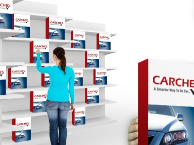 Carchex Home V4 E web web design